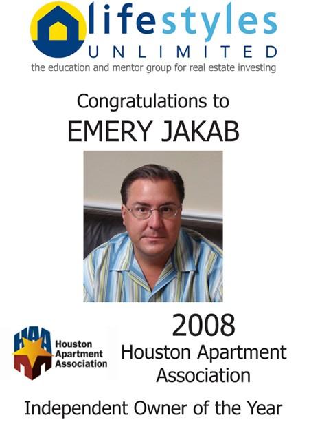 2008 HAA Award