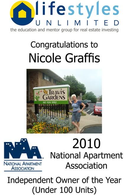 2010 NAA Award