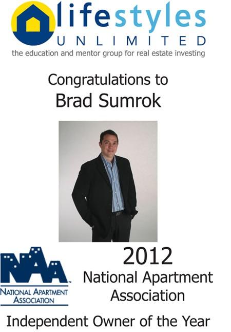 2012 NAA Award