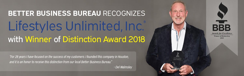 BBB 2018 Award Winner